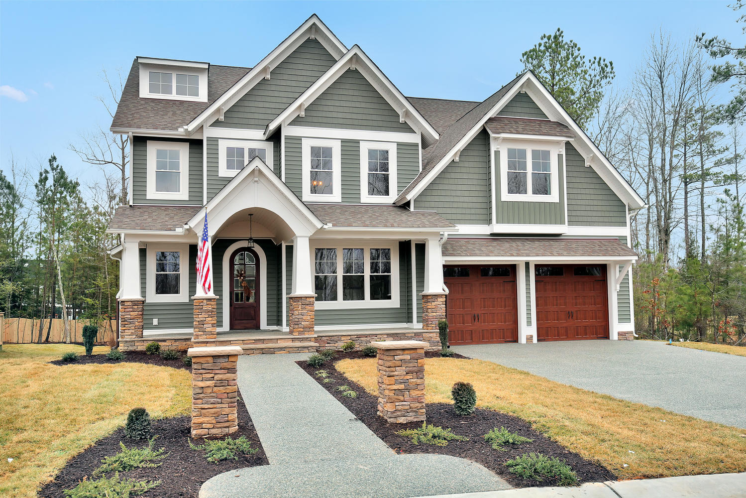 Rountrey a midlothian neighborhood nestled on the swift for Custom home builders anderson sc
