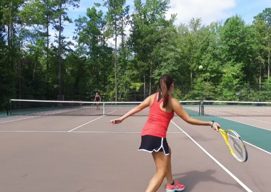 tennis amenities at rountrey